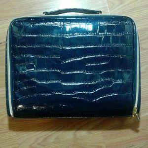 Estee Lauder Dark Blue Bag With Handle